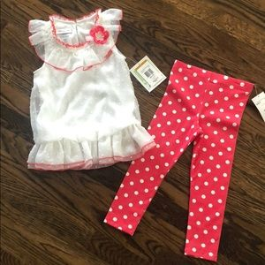 Girls lacy outfit set. 3T. Perfect condition.